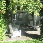 porch area on grounds