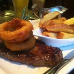 The steak option as part of the Early Bird menu! Delicious!