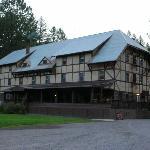 The back of the inn