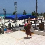 Stage Facing the Beach