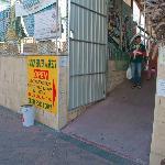 Subiaco Street Market entrance