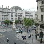O'Connell Street, from our room.