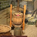 Old apple press