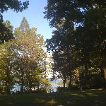 View from picnic area at Wildflower Cottage @ The Savannah House