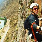 Embracing the thrill of the moment (Via Ferrata)