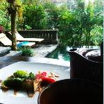 Villa Tunjung - Tea Time (Pool Area)