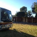 Bus/truck parking area