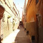 La ruelle du Riad