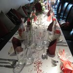 Our beautiful Wedding Reception Table