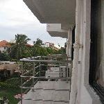 Balcony of the Hotel