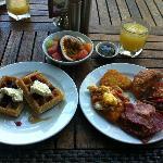 Buffet Breakfast was incredible!