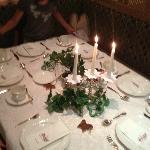 dressage table pour anniversaire