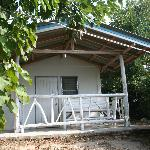One of the bungalows