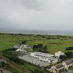 Club house from Harlech Castle