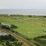 Practise ground from Harlech Castle