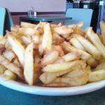 More fries than we could eat!!
