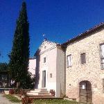 Agriturismo San Cristoforo - la chiesina e la reception