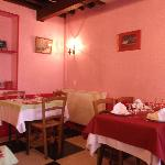 A warm glowing atmosphere at La Boule d'Or