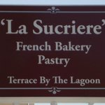 "French Bakery "" La Sucriere"" Pastry Sign"