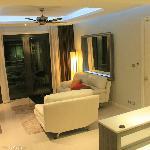 Living room @ deluxe suites room