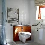 Boulders Room bathroom designed specifically for Wheelchair users