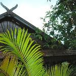 Roof, Garden details, Viang Yonok Hotel Chiang Saen Thailand