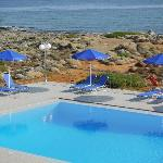 piscine face à la mer