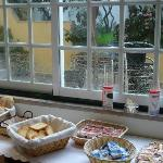 Área do pequeno almoço