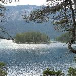 Lago Eibsee , Baviera Alemania