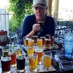 Beer tasting at Ice Harbor Brewery