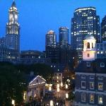 View from room facing Quincy Market