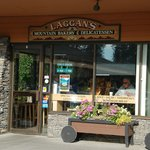 Laggan's bakery, in the Samson Mall, Lake Louise