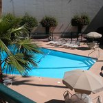 View of the pool from our 2nd floor room