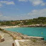 Beautiful beach Cala Marsal, ine of the most beautiful I have ever visited
