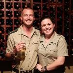 Lodge manager Gavin & Belle
