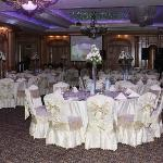 nice arabic wedding arrangement