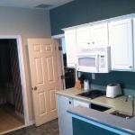 Kitchenette- Open door to your left is to the bathroom and next to that to the next door condo