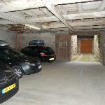 parkeer garage (reserveren!)