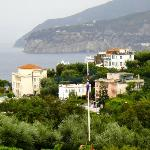 View back into Sorrento & Meta