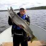 Activites - fishing only 300 metres from lodge deck