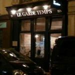 The front of Le Garde Temps.