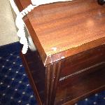 furniture chipped
