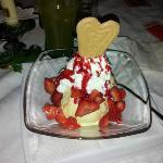 Uno dei tanti dessert disponibili