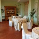 sala colazione e ristorante