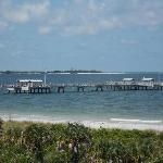 From Fort De Soto on Mullet Key you can view the lighthouse on Egmont Key.