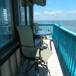 Gulf Front Balcony Seating