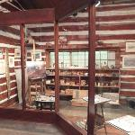 inside C.M. Russell studio