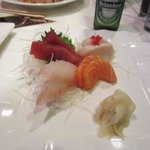 Sashimi Sampler-very fresh and delicious!