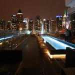 View from the roof top bar