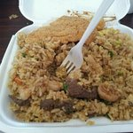 the combo rice!!! enough for sharing!